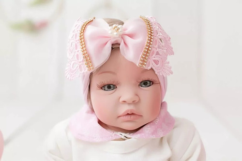 bebê reborn barata enxoval princesa + bolsa maternidade