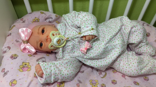 bebê reborn boneca realista com enxoval completo