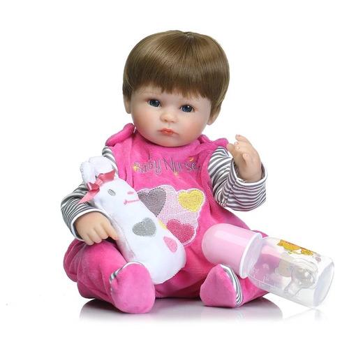 bebê reborn boneca realista importada pronta entrega+brinde