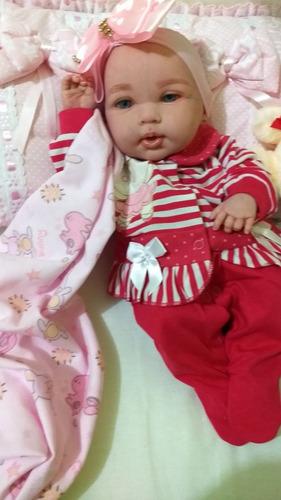 bebê reborn corpo inteiro em vinil siliconado**promoção **