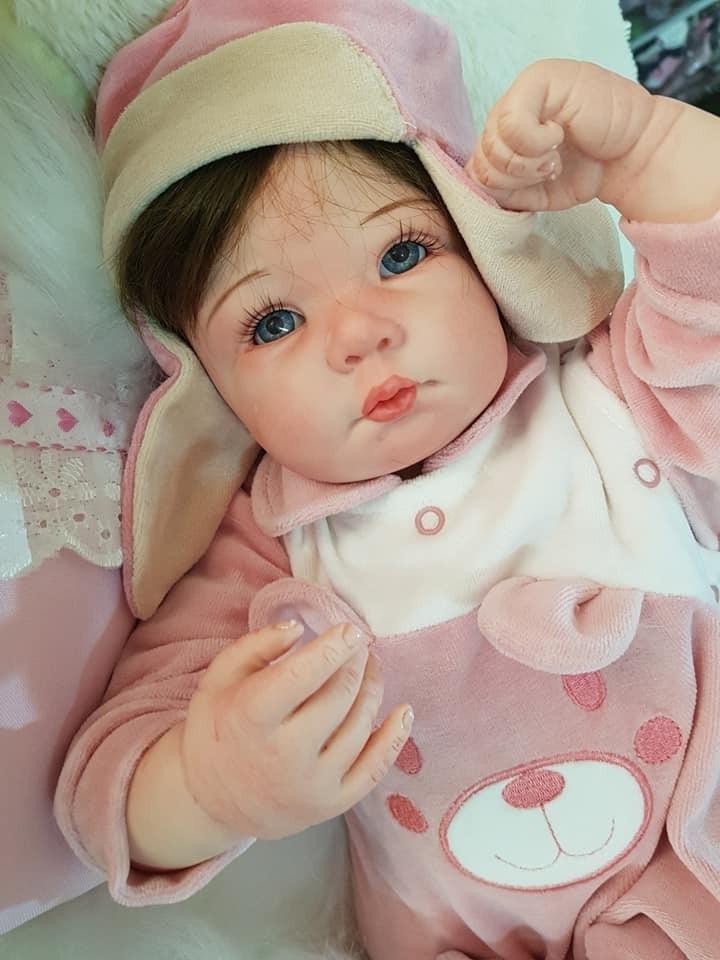 e08282597 Vender um igual. bebê reborn linda alice promoção pronta entrega.  Carregando zoom.