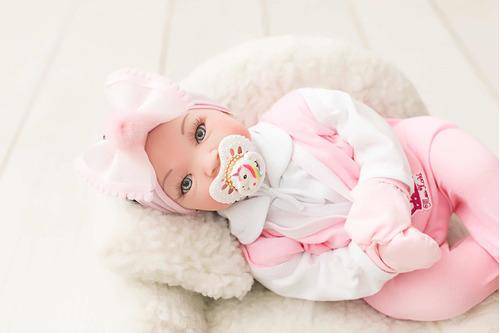 bebê reborn + linda do mundo aproveite - 17 itens