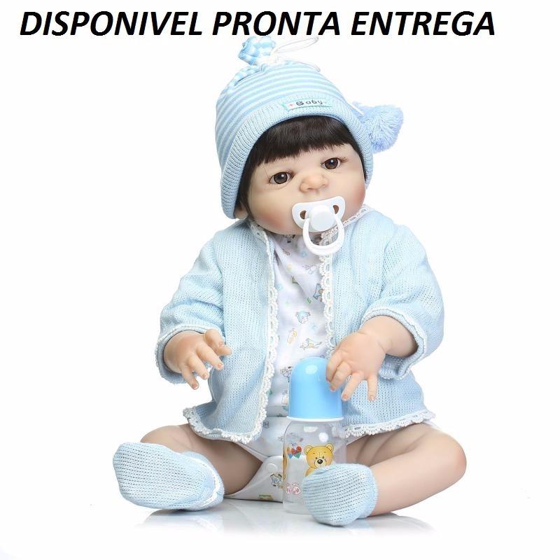 848acefa7 bebê reborn menino boneca 100% silicone. pronta entrega! Carregando zoom.