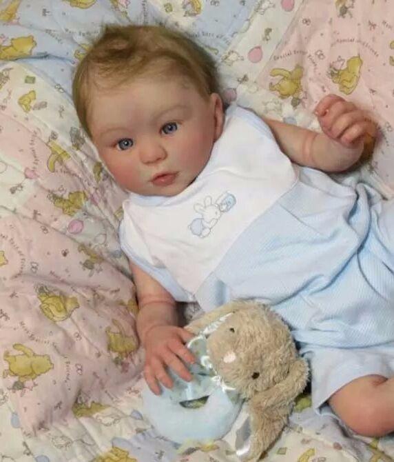 94df13ce7 Bebê Reborn Menino Corpo Inteiro Em Vinil Muito Real - R  1.999