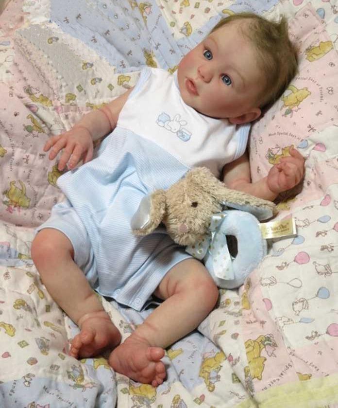 750fe1a87 bebê reborn menino corpo inteiro vinil siliconado kit kylin. Carregando  zoom.