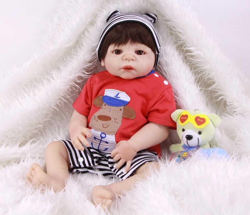 5ec3fc465 bebê reborn menino corpo todo 100% silicone pronta entrega. Carregando zoom.