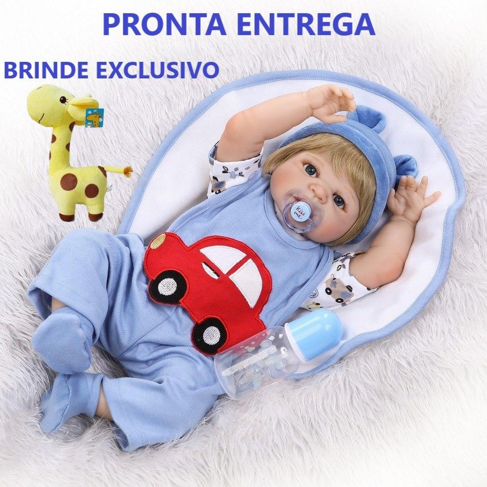 ed79aa425 bebê reborn menino loiro a pronta entrega corpo de silicone. Carregando zoom .