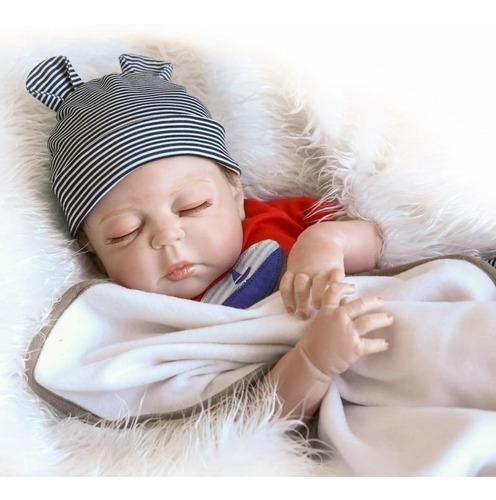bebê reborn menino ou menina recém nascido realista + brinde