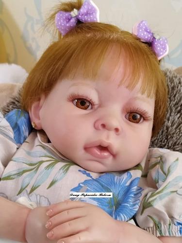 bebê reborn nacional preço imperdível promoção+ enxoval luxo
