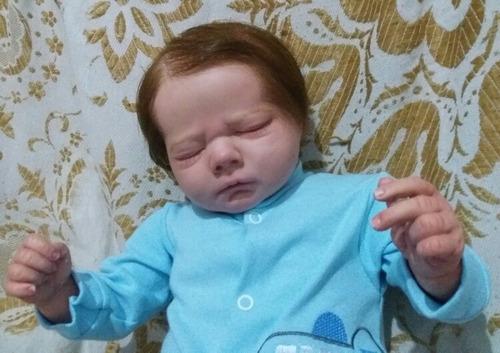 bebê reborn original verdadeiro. mundo da nay.