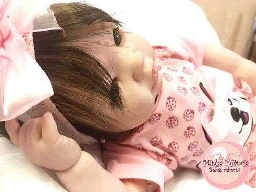 bebê reborn personalizada julie +pronta entrega+ frete gráti