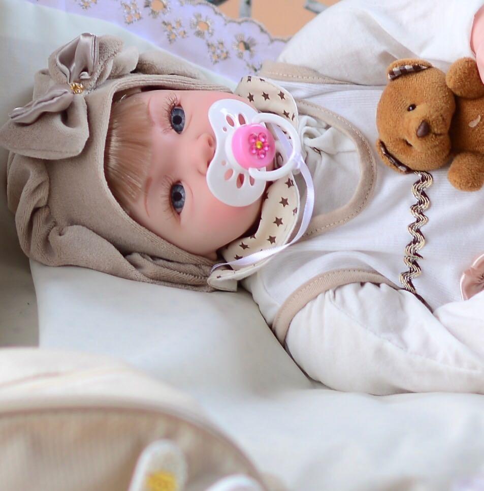 634b14e50 Vender um igual. bebê reborn promoção 53cm princesa boneca envio rapido  bolsa. Carregando zoom.