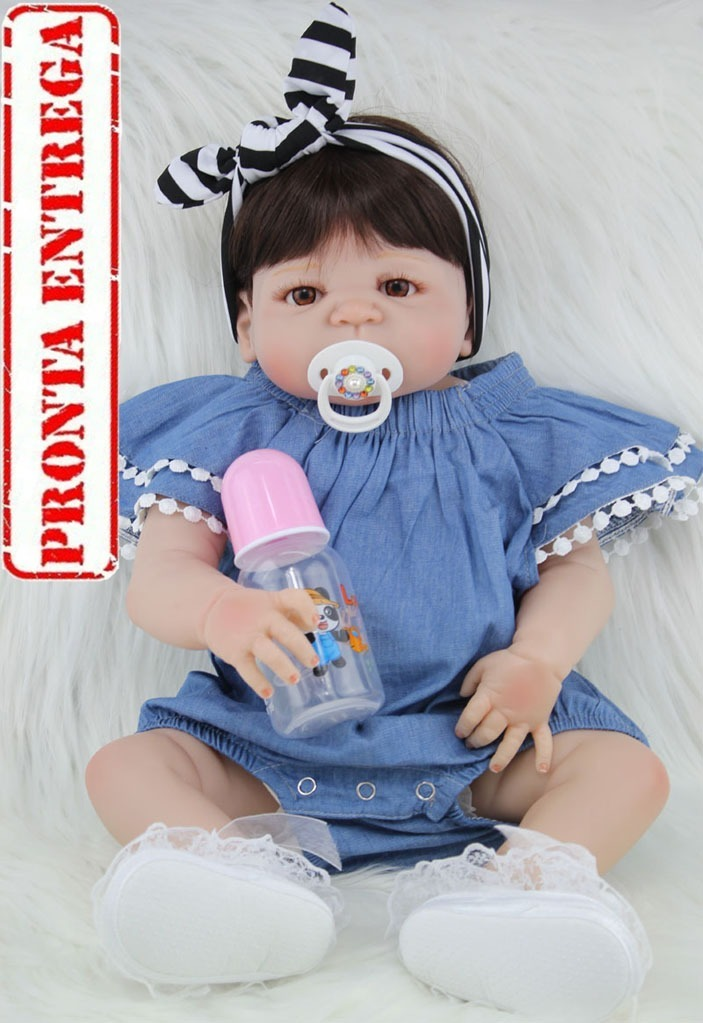 ac5ddc209 bebê reborn silicone barato promoção pronta entrega as016. Carregando zoom.