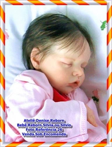bebê reborn silvia ki twin b venda sob encomenda sem enxoval