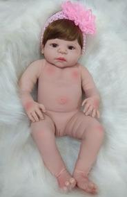 ccaac14c0 Bebe Reborn Silicon - Bonecas Reborn no Mercado Livre Brasil