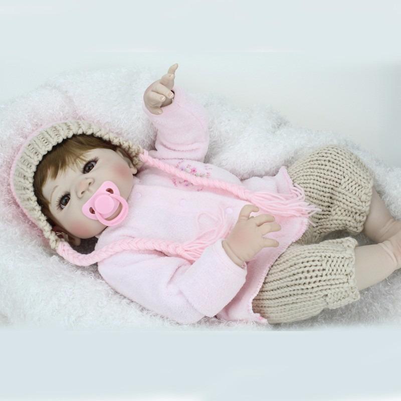 Bebê Reborn Toda De Silicone-frete Grátis- Tempo Limitado. - R  799 ... 8ace1b6575e