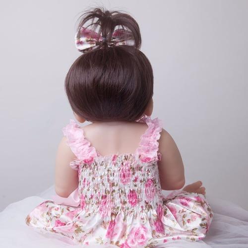 bebê reborn victoria barato boneca silicone frete grátis