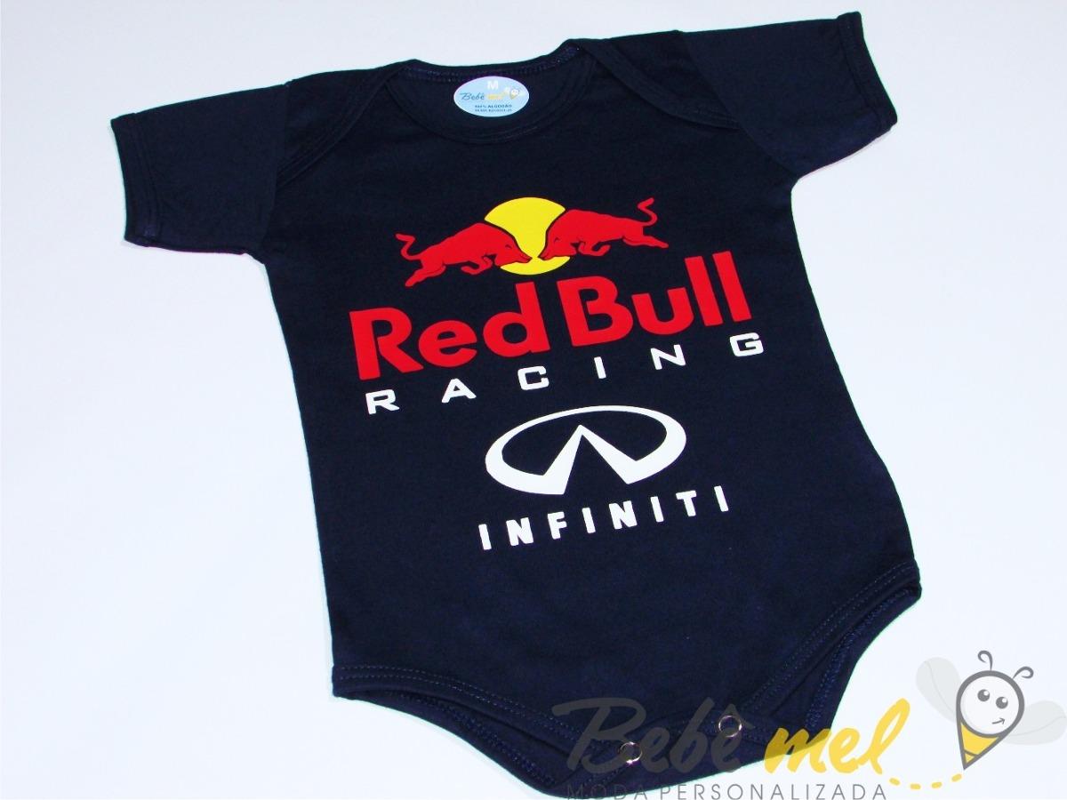 body de bebê fórmula 1 red bull roupa bebê red bull racing · bebê roupa bebê.  Carregando zoom. 8390212e386