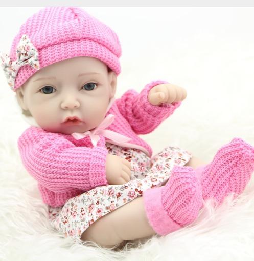 d7b809c01 Bebe 100% Silicone Princesa Reborn Promocao Frete Gratis - R$ 179,50 ...