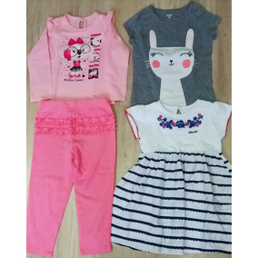 6e3a1a25c0 Kit Roupas De Marca Baby Bebê Carters E Lilica 20 24 Meses