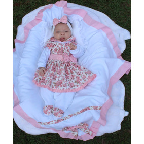 c96e1fda41 Saida Maternidade Menina Elo7 - Bebês no Mercado Livre Brasil