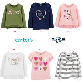 c63f1b5a2 Camisa Blusa Oshkosh Carters Niña Tallas Desde 2t A 5t