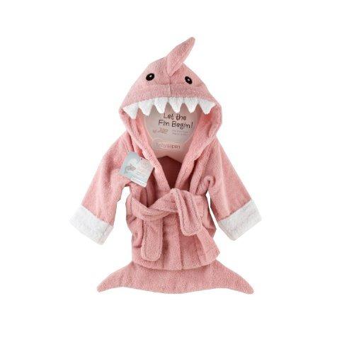 bebé aspen \ que el fin de comenzar\  robe shark, rosa, 0-9