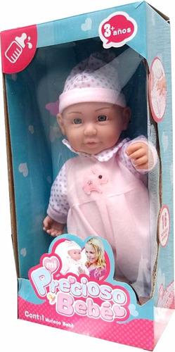 bebe bebote con sonidos 29 cm en español- minijuegos
