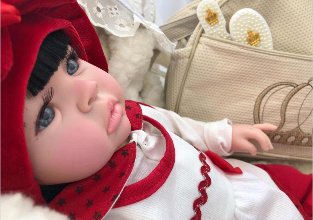 Bebe Boneca Bebe Realista Reborn - Princesa - R  359 c0f6cc4e91a