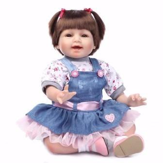 bebe boneca reborn promoção perfeita linda frete grátis 55cm