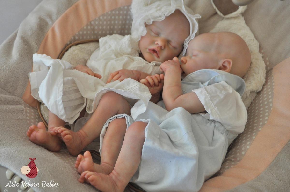 Bebe boneca reborn twin a e b g meos pronta entrega barato for Beb it