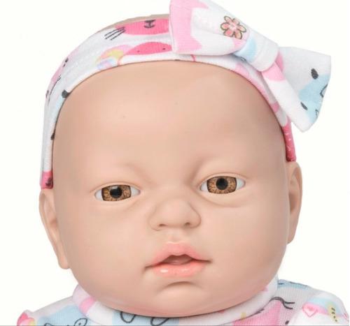 bebe casi real muñeca tipo reborn chloe de plastisol educan