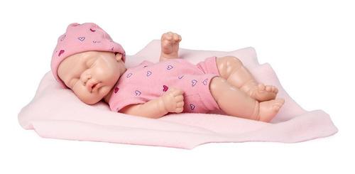 bebe casi real muñeca tipo reborn recien nacido dormido 26cm