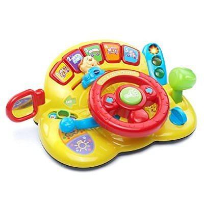 Conducir Bebé Jugar Coche Aprendizaje Volante Juguete Luz hrsdQtC