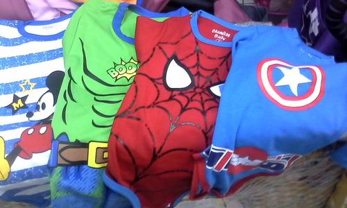 bebe crece de super heroes