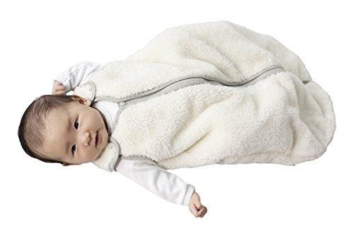 bebe deedee sleep rodar teddy bebe saco de dormir, ivory