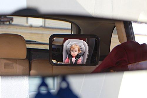 Beb del coche del espejo para el asiento de atr s for Espejo para coche para ver al bebe