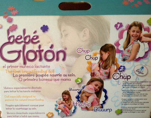 bebe gloton - el primer muñeco lactante - berjuan