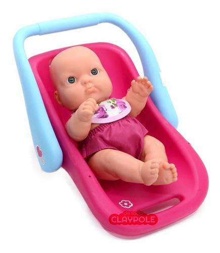 bebé gordito chico con porta bebé - cariñito