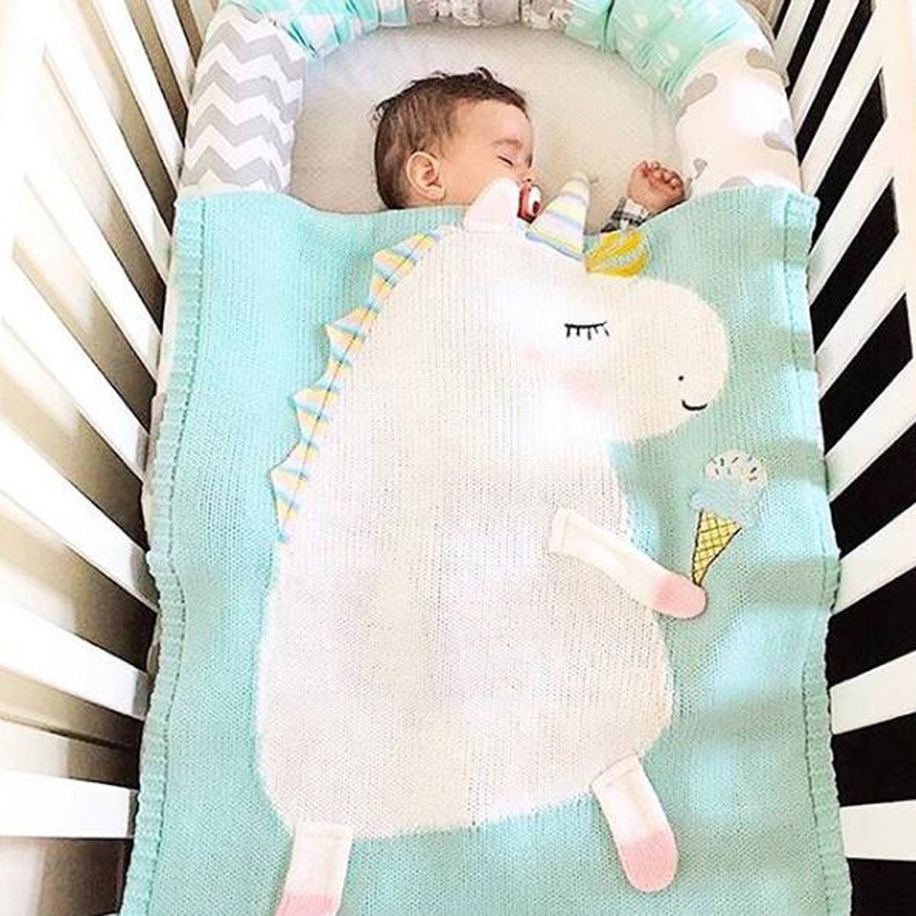Bebé Infantil Unicornio Manta Baño Fácil Wrap Durmiente E - $ 515.36 ...