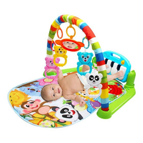 Bebê Jogar Esteira Criança Ginásio Cobertor Piano Pedal F