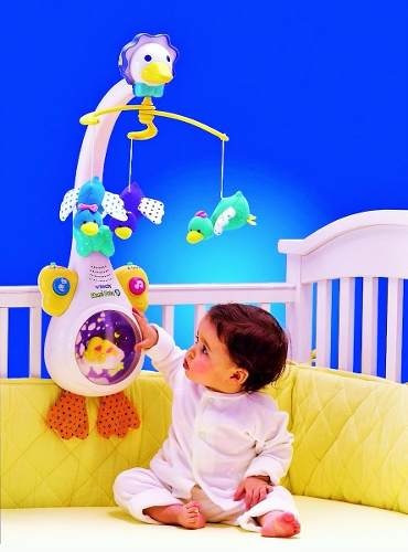 bebe juguete movil