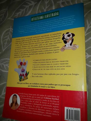 bebe - libro estimula a tu bebe ejercicios utilisima juegos