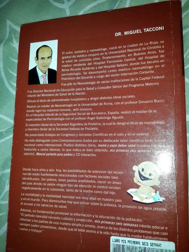 bebe - libro mis primeras 6 semanas dr. taconi