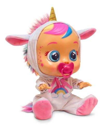 bebé llorón cry babies dreamy baby unicornio + entrega ya!