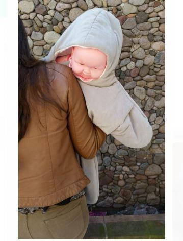bebé mar para