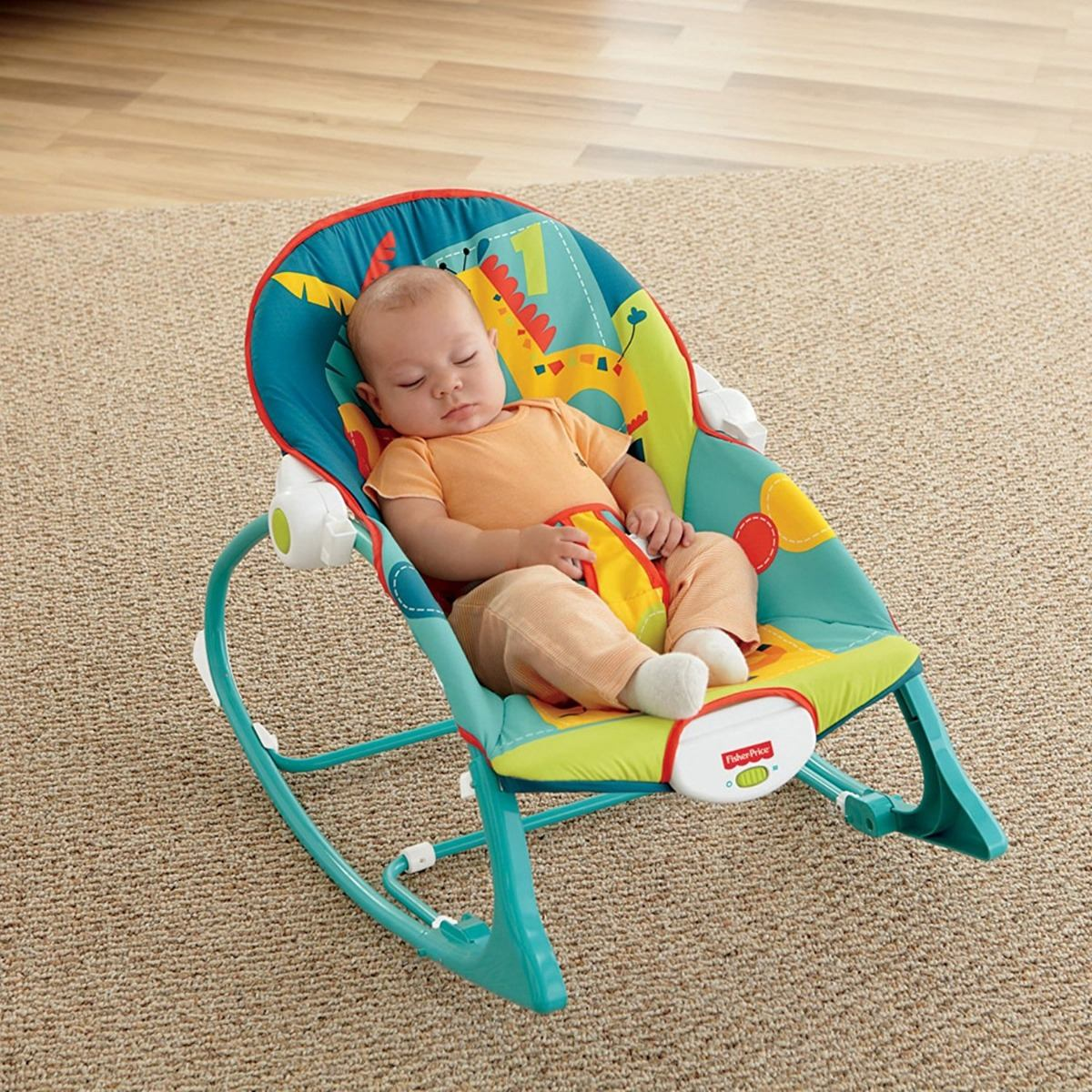 8b04e3b31 Cargando zoom... silla bebe mecedora vibradora fisher price dark safari