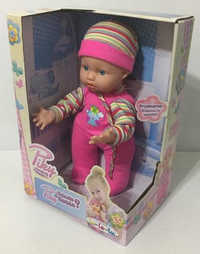 bebe muñeco piky ¿donde estas? original la-le-lu