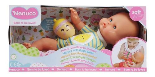 bebe nenuco   con biberon sonajero