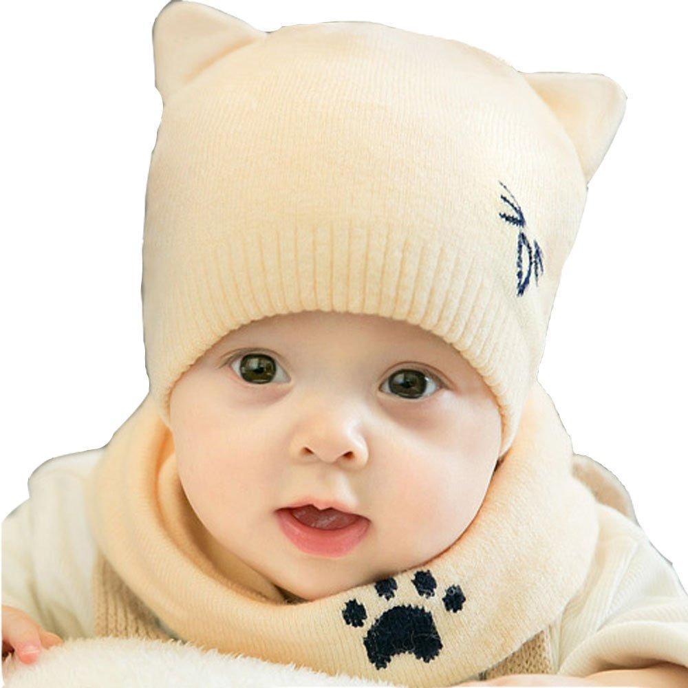 bebé niño gorros bufanda conjunto niños sombreros niñas. Cargando zoom. daaa13af6ec